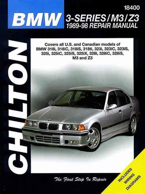 bmw  series     chilton owners service