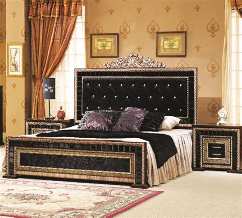 bed set chinyoti wood handi craft