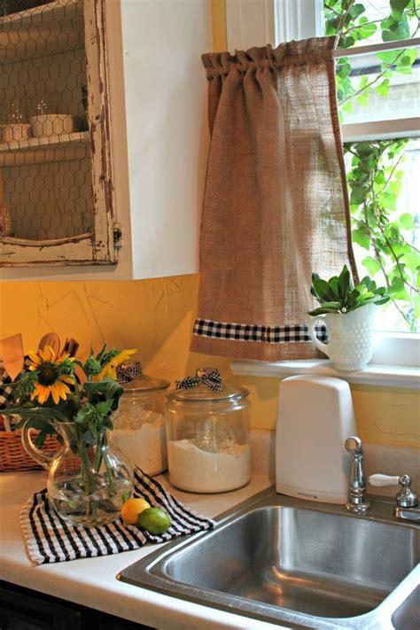 rideau cuisine moderne jaune id 233 es de d 233 coration et de mobilier pour la conception de la maison