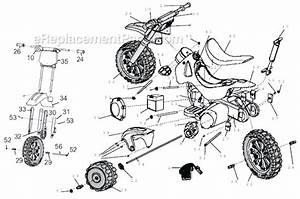 Power Wheels 73600-9993 Parts List And Diagram