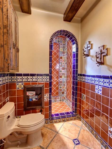 Mexican Tile Bathroom Home Design Ideas, Pictures, Remodel