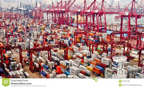 hong kong port editorial stock image image of security 27974799