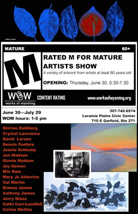 works  wyoming art gallery rated   mature artists show