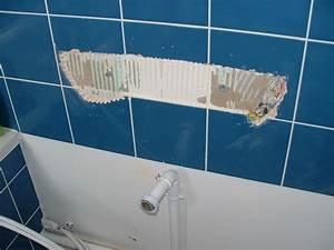 comment retirer un lavabo colle au mur With comment decoller du carrelage mural