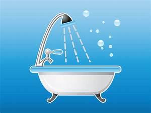 Bathtub Icon Vector Art Graphics