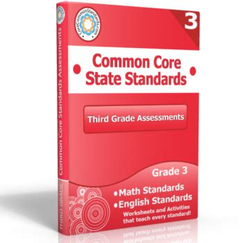 third grade math standards common core worksheets