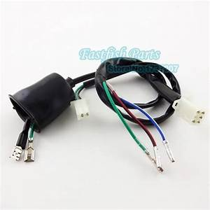 Wiring Loom Harness   Kill Switch   Racing Ignition Coil   Ac Cdi 5 Pin Aluminum For 50cc