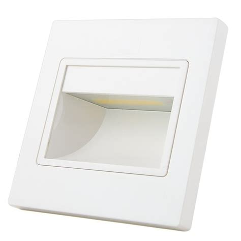 mengsled mengs 174 1w led wall step light cob leds led