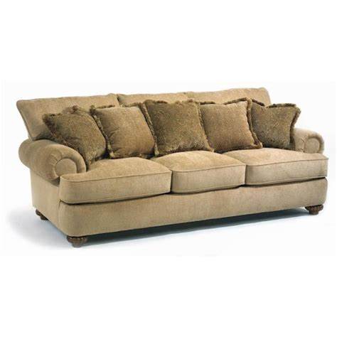 flexsteel patterson sofa price flexsteel patterson stationary sofa with rolled arms