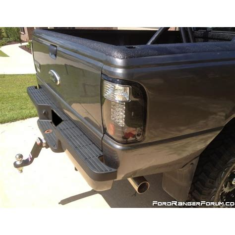2000 ford ranger tail lights 1993 2000 ford ranger euro style led tail lights smoked