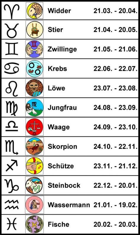 Skorpion Sternzeichen Monat by Sternzeichen Familie