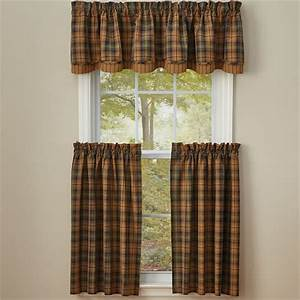 Thorton Lined Layered Curtain Valance 72quot X 16quot