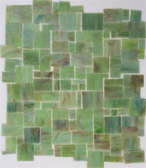 green stained glass mosaic tile super sale