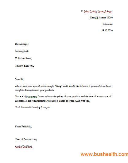 4001 contoh surat bahasa inggris lengkap