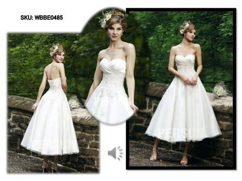 Inexpensive Short White Wedding Dresses 2015