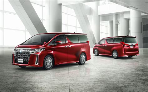 Toyota Vellfire 4k Wallpapers by Wallpapers Toyota Alphard S 2018 4k New Luxury
