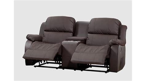 sofa mit funktion sofa mit tea table lakos 2 sitzer braun mit funktion