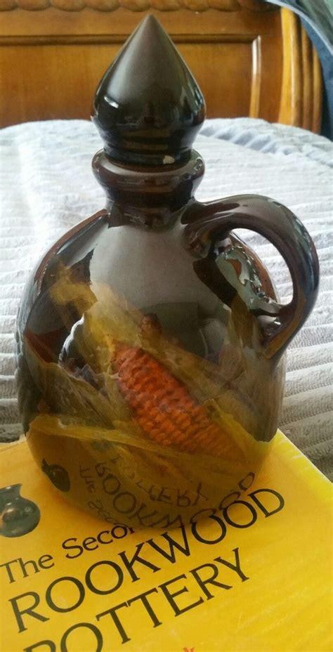 1901 Edith Hurley Rookwood Corn Whiskey Jug Pottery Vase