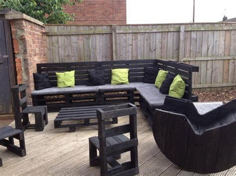 Pallet Patio Furniture Plans by Wooden Pallet Outdoor Furniture Ideas Recycled Things