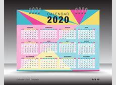 2020年日历图片矢量2020年日历素材高清图片摄影照片寻图免费打包下载