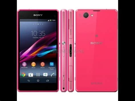 unboxing sony xperia  compact pink youtube