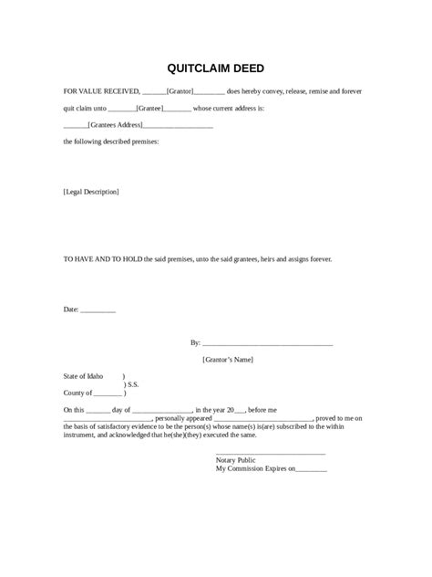 quit claim deed form iowa pdf quit claim deed form 86 free templates in pdf word