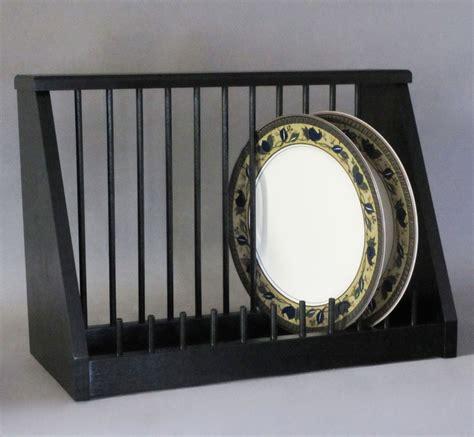 plate rack hardwood  china storage