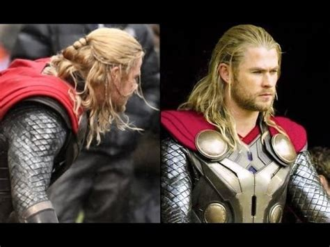 thor  dark world mens hairstyle tutorial youtube
