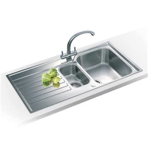franke kitchen sink franke asx 651 ascona 1 5 bowl reversible stainless steel 1056