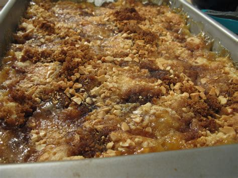 dump cake peach dump cake my edible memories