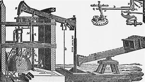 A Detailed Diagram Of Thomas Newcomen U0026 39 S Steam Engine
