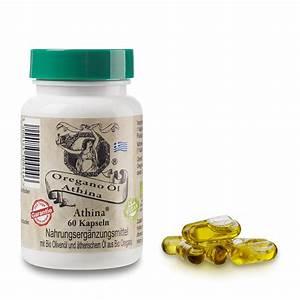 Athina Oregano Oil 60x Organic Capsules Vegan Natural Product 80  Carvacrol
