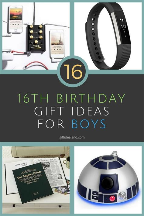 16th Birthday Presents For Boys