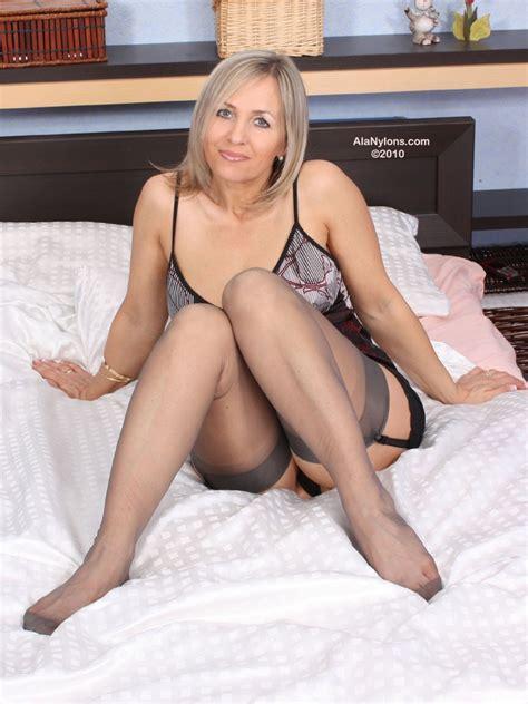 Ala Nylon From Poland Sexy Polish Milf In Bedroom