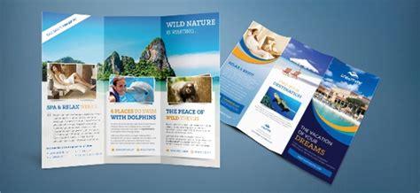 travel brochure templates  psd ai eps format
