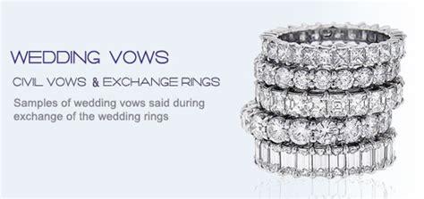 wedding vow said during the exchange of rings itakeyou co uk