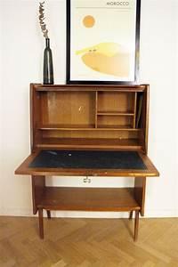 Bureau Secretaire Vintage : secr taire bureau vintage style scandinave des ann es 60 ~ Teatrodelosmanantiales.com Idées de Décoration