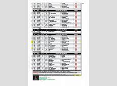 El calendario de disputa de la CONMEBOL LIBERTADORES