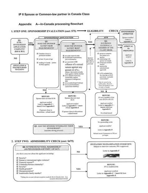 Immigration Criminal Law Flow Chart