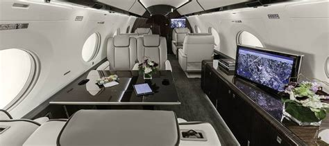 worlds  luxurious private jet
