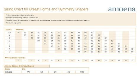 amoena breast forms size chart 38 amoena frances front closure leisure bra size s