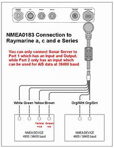Interfacing To Raymarine A  C And E Series
