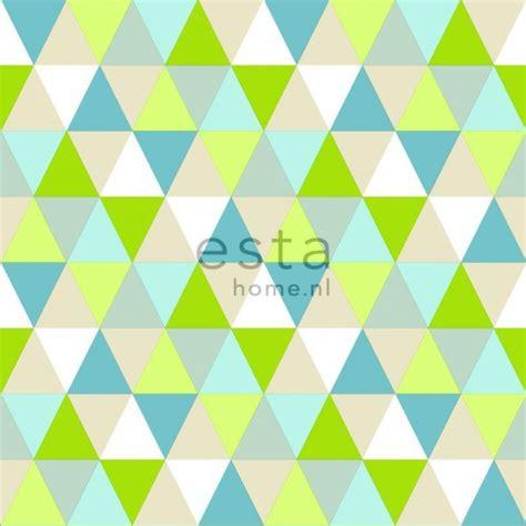 papier peint intiss 233 haute d 233 finition triangles vert lime
