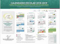 Calendario Escolar 20182019 Secretaría de Educación del