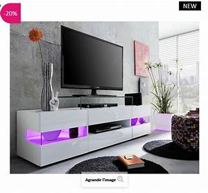 Banc Tv Design : banc tv design led maximilian atylia meuble tv atylia ventes pas ~ Teatrodelosmanantiales.com Idées de Décoration