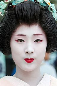 Traditional Japanese Geisha Makeup