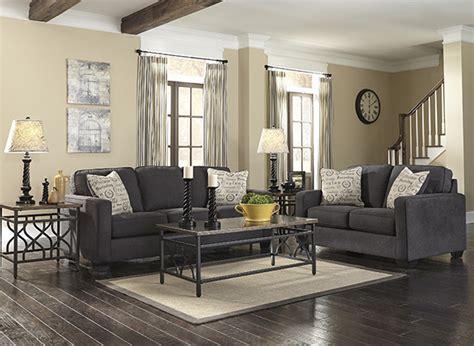 alenya charcoal sofa  signature design marjen  chicago chicago discount furniture