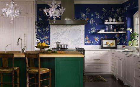 wallpaper in kitchen ideas modern kitchen wallpaper interior design