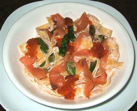 cuisine asperges vertes tagliatelles au saumon fumé et aux asperges vertes ma