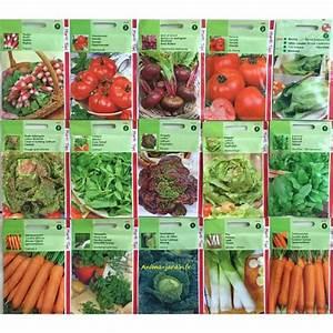 Graine De Gazon Pas Cher : lot de 20 paquets graines l gumes jardin ouvrier pas cher ~ Dailycaller-alerts.com Idées de Décoration